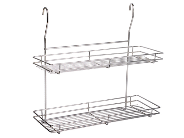 Shower Caddy/Hanging Storage Baskets Two tiers Hanging shelf